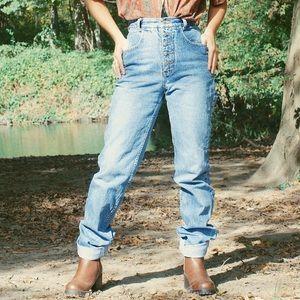 Vintage Wash High Waisted Jeans